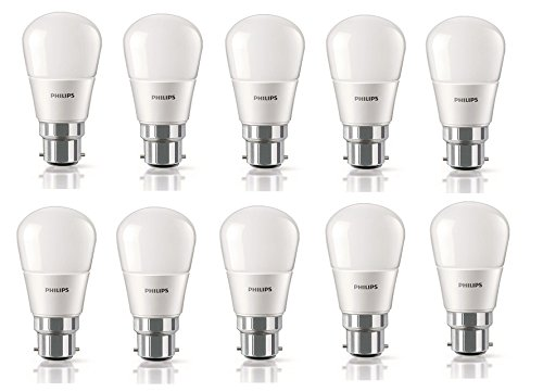 Philips 2.7W LED Bulbs (Cool Day Light, Pack Of 10)