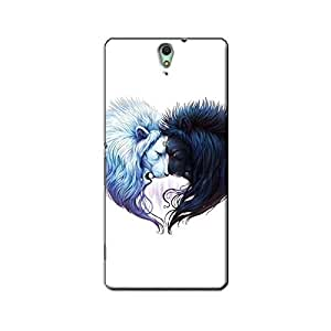 LIONS YIN YANG BACK COVER FOR SONY XPERIA C5