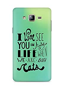 AMEZ i will see you in another life Back Cover For Samsung Galaxy ON5