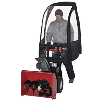 Snow Thrower Cab Cover You can now effectively protect your investments with the Snow Thrower Cab Cover. The product protects against wind, snow, sleet, rain or snow blow back. The unique fitting attachments will allow the cab angle to be adjusted. I...