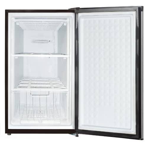 HS-109F Compact Single Reversible Door Upright Freezer, 3.0 Cubic Feet