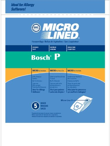 Bosch Vacuum Bags Style P Microlined