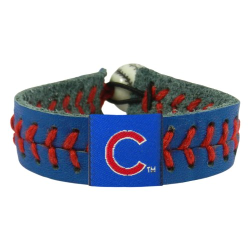 MLB Chicago Cubs Team Color Baseball Bracelet at Amazon.com