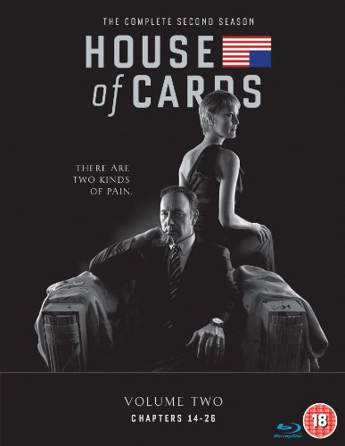 House of Cards - Season 02 [Reino Unido] [Blu-ray]