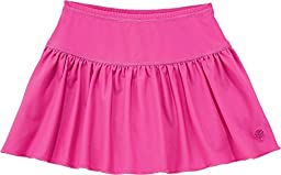 Coolibar UPF 50+ Girl\'s Swim Skort - Sun Protective (Youth Medium - Pretty Pink)