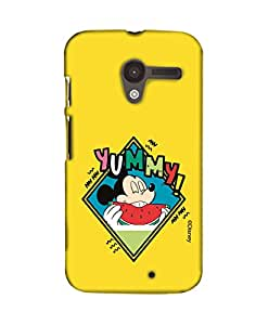 Pick Pattern with Exclusive DISNEY Characters Back Cover for Motorola Moto X (1st Gen.)