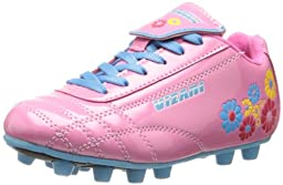 Vizari Blossom FG Soccer Shoe (Toddler/Little Kid),Pink/Blue,12 M US Little Kid