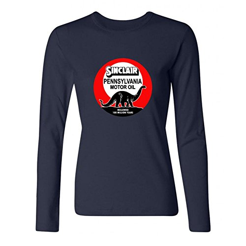 DESBH Women's Sinclair Oil Long Sleeve T Shirt (Marvel Magic Mystery Oil compare prices)