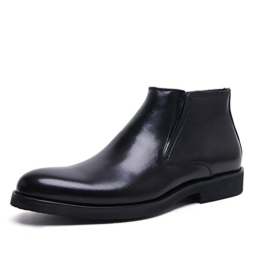 Mens inglese Alta Dress Boots Top , black , 40