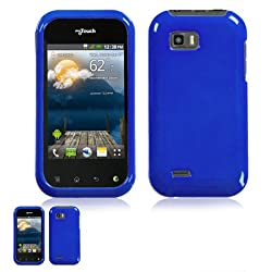 LG Mytouch Q Blue Snap On Case