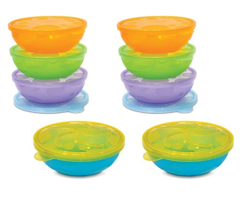 Munchkin 8 Pack Stack A Bowls - 1