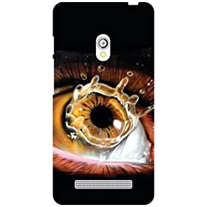Asus Zenfone 5 A501Cg-Crying Eyes Matte Finish Phone Cover