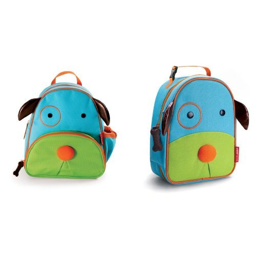 Skip Hop Zoo Backpack and Lunchie Set, Dog