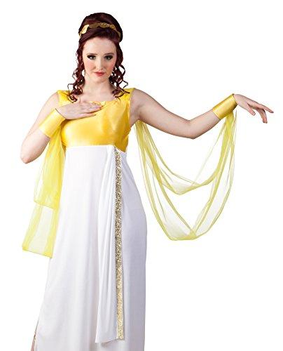 Boland 83843 - Costume Dea Greca Donna Taglia Unica, Bianco