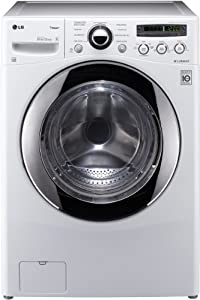 LG 3.6 Cu. Ft. White Front Load Steam Washer - WM2650HRA