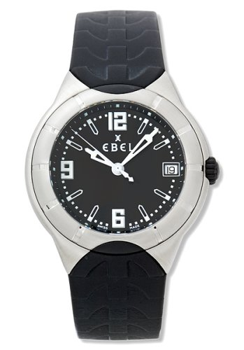 Ebel Men's E Type Watch #9187C41-56C35606 - Buy Ebel Men's E Type Watch #9187C41-56C35606 - Purchase Ebel Men's E Type Watch #9187C41-56C35606 (Ebel, Jewelry, Categories, Watches, Men's Watches, By Movement, Swiss Quartz)