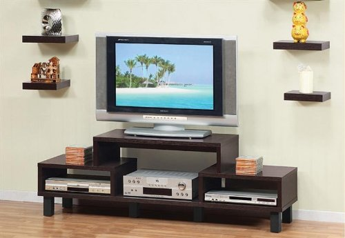 Image of Enitial Lab 10368 Parke 60 in. TV Console-Entertainment Cabinet (B007W93ZC2)