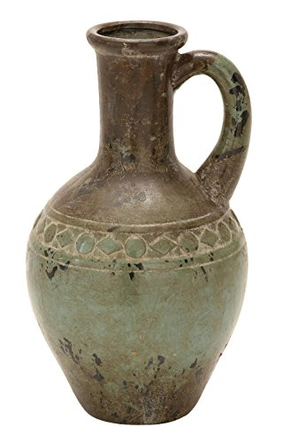 Deco 79 Ceramic Vase, 16 by 9-Inch (Decorative Ceramic Urns compare prices)