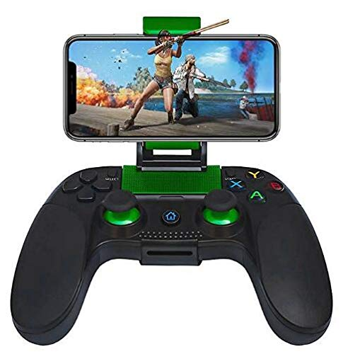 Mobile Game Controller, PowerLead PG8718 Wireless 4.0 Game Controller (8718 Green) (Color: 8718 Green)