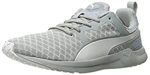PUMA Women's Pulse XT Filtered WNS Running Sneaker, Quarry/White, 9.5 B US