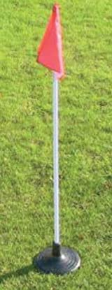 Soccer Innovations P-SCF25T Corner Flag Set with Jumbo Base (Call 1-800-234-2775 to order)