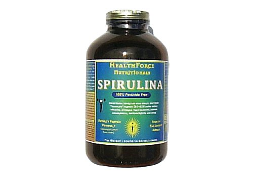 Healthforce Spirulina Manna, Powder, 16-Ounce