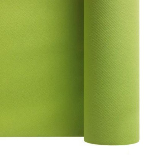 rouleau de nappe intissée vert kiwi 1,20mètres x 25 mètres