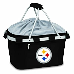 NFL Pittsburgh Steelers Metro Insulated Basket by Picnic Time