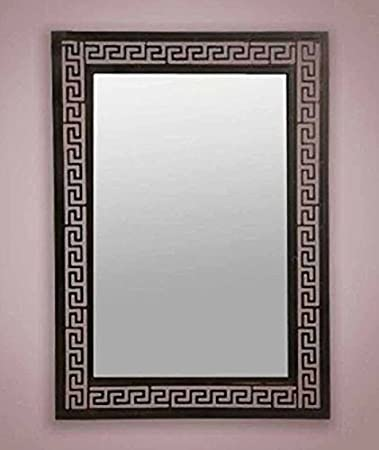 Wrought iron mirror DAKOTA Model
