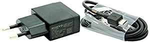 Samrick 0000437542 Original Sony Mobile Xperia Z Ladekabel, Ladeadapter, Datenkabel EP880, EC801 EP881 Netzteil Ladegerät (micro-USB)