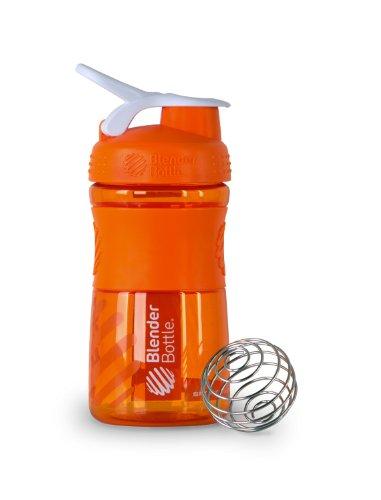 Blenderbottle Sportmixer, Orange and white, 0.35