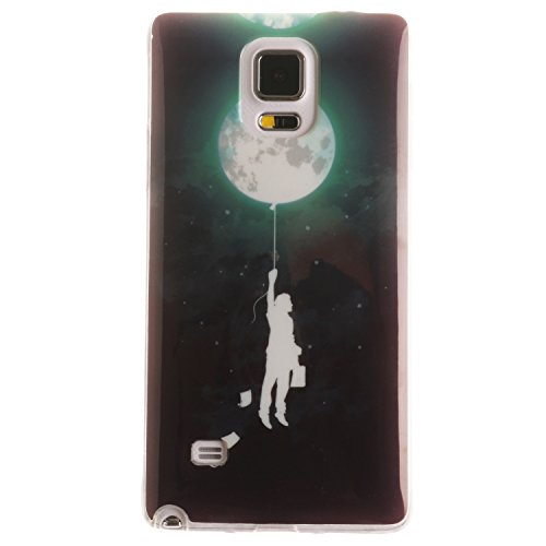 BONROY-PU-Leder-Schutzhlle-fr-Samsung-Galaxy-Note-4-IV-N910-case-Wallet-Schale-Tasche-Magnet-Silikon-Back-Cover-Etui-Skin-Shell-Purse-Handyhlle-Kontrast-farbe-Standfunktion-Kredit-Kartenfcher-Folio-Bo