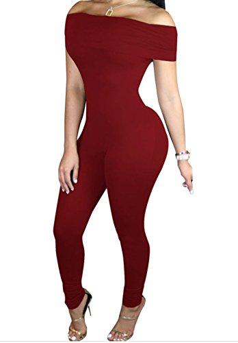 fq-real-dress-womens-burgundy-form-fitting-off-shoulder-jumpsuit-l