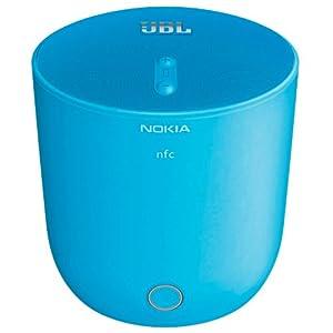 Nokia MD-51W JBL PlayUp Portable Wireless Speaker - Retail Packaging - Cyan