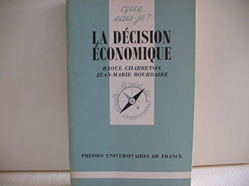 La Décision économique