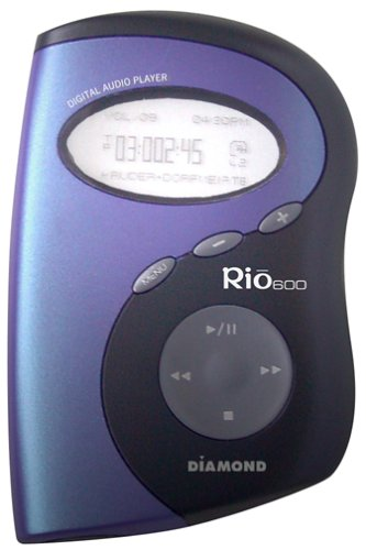 Rio 600 32 MB Digital Audio Player (MP3/WMA)