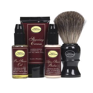 The Art of Shaving Starter Kit – Sandalwood