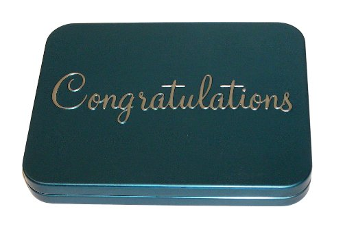 Gift Card Holder - Gift Card Boxes with Message, Congratulations, Pack of 3