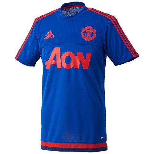 maillot-entrainement-manchester-united-bleu-rouge
