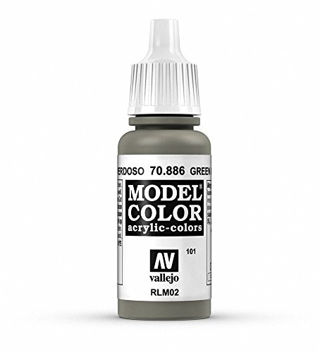 Vallejo Green Grey Model Color 1 Paint, 17ml