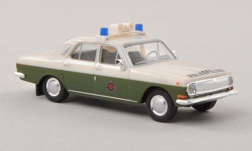 Wolga-M24-Volkspolizei-Polizei-DDR-Modellauto-Fertigmodell-Herpa-187