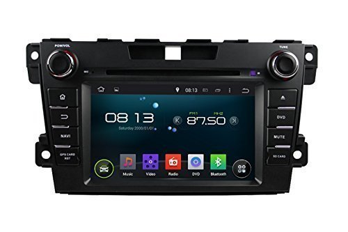 ANLU 7 Inch Touchscreen Motorized GPS Navigation for Mazda CX-7 2012 2013 2014 Support 3G Wifi Bluetooth USB SD FM AM Radio RDS SWC Mirror Link (Sd Gps Mazda 3 2014 compare prices)