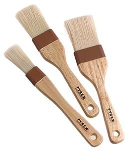 Pyrex Pastry Brush Set