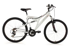 VTT tout suspendu 26''Zodiac blanc TC 47 cm KS Cycling
