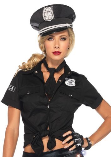 Leg Avenue Women's Police Costume Kit