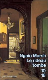Le rideau tombe - Ngaio Marsh - Babelio