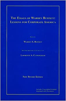 Warren buffett essays