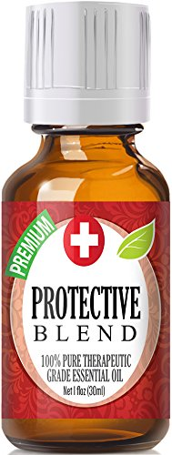 Protective Blend 100% Pure, Best Therapeutic Grade Essential Oil - 30ml / 1 (oz) Ounce - Comparable to DoTerra's OnGuard - Sweet Orange, Clove, Cinnamon Bark, Eucalyptus, Rosemary