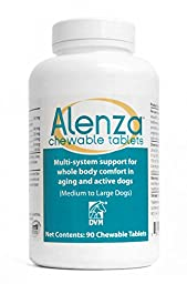 DVM Pharmaceuticals Alenza Chew Tablet for Dog, Medium/Large, 60 Tablets
