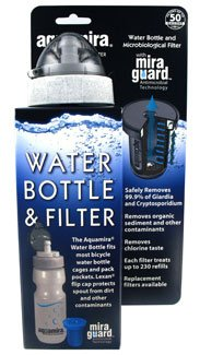 Aquamira Water Bottle and Filter Emergency Disaster Preparedness Survival Kits and Supplies